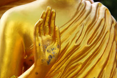 Manos del buddha Fotos de archivo libres de regalías