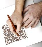 Manos del gráfico Imágenes de archivo libres de regalías