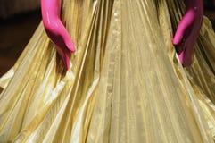 Manos rosadas del maniquí Fotografía de archivo