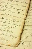 manoscritto fotografia stock libera da diritti