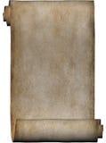 Manoscritto, rotolo di pergamena Immagini Stock