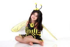 Manosee el traje de la abeja Imagen de archivo libre de regalías