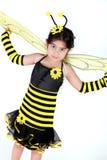 Manosee el traje de la abeja Imagenes de archivo