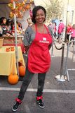 Manouschka Guerrier. At LA Mission Homeless Thanksgiving, Los Angeles Mission, Los Angeles, CA 11-23-11 Stock Images