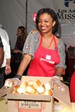 Manouschka Guerrier. At LA Mission Homeless Thanksgiving, Los Angeles Mission, Los Angeles, CA 11-23-11 Stock Photo