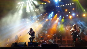 Manowar Concert Stock Photography