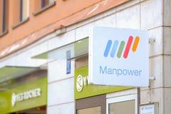 manpower Fotografia Stock