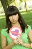 Manque d'amour Images libres de droits