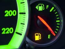 Manquer de gaz Photographie stock libre de droits