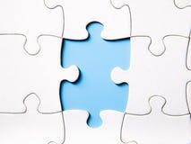 Manquer un morceau d'un puzzle Image stock