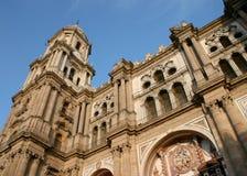 Manquitakathedraal Malaga van La Stock Foto's