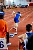 Manrennen Stockfotografie