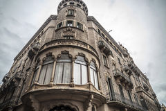 Manresa,Catalonia,Spain. Architecture, modernist style building, House, Casa Torrents or Ca la Buresa, Manresa, province Barcelona, Catalonia Stock Photography