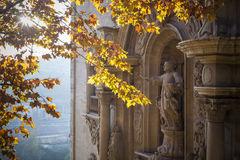 Manresa,Catalonia,Spain. Facade Church, baroque style,Cave of Saint Ignatius,Manresa,province Barcelona,Catalonia Stock Photography