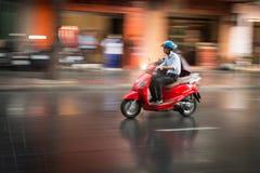 Manridningsparkcykel i Vietnam, Asien Royaltyfria Foton