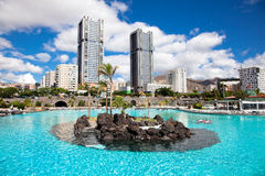 Manrique park in Santa Cruz. Tenerife Stock Photos
