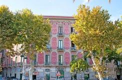 A mansão cênico em Catania Fotos de Stock Royalty Free