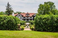 A mansão da propriedade de Longview foto de stock royalty free