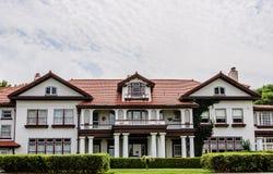 A mansão da propriedade de Longview Fotos de Stock