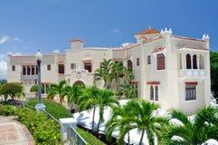 Mansão de Castillo Serralles em Ponce (Puerto Rico) Fotografia de Stock Royalty Free