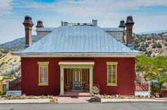Mansão de Chollar - Virginia City, nanovolt imagens de stock