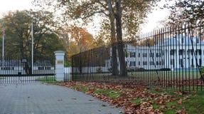 A mansão de Drumthwhacket em Princeton, residência oficial do regulador de New-jersey Imagem de Stock Royalty Free