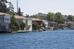 Mansão de Zarif Mustafa Pasha Seaside, passo de Istambul, Turquia fotografia de stock