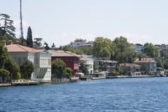 Mansão de Zarif Mustafa Pasha Seaside, passo de Istambul, Turquia fotografia de stock royalty free