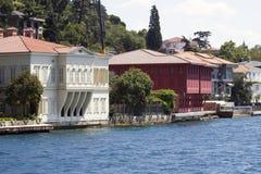 Mansão de Zarif Mustafa Pasha Seaside, passo de Istambul, Turquia foto de stock