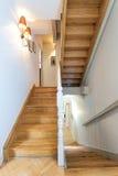 Mansão do vintage - escadaria Fotografia de Stock Royalty Free
