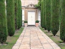 Mansão e jardim Imagem de Stock
