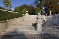 Mansão e jardins de Du Pont Imagem de Stock Royalty Free