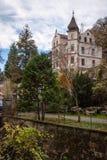 Mansão em Forst, saxão, Alemanha Fotos de Stock Royalty Free