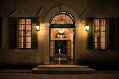 mansão Italy fotografia de stock