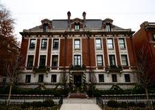 A mansão original do playboy de Chicago imagem de stock