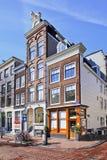 Mansões antigas em Herengracht, Amsterdão, Países Baixos Fotos de Stock