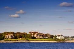 Mansões de Newport Foto de Stock Royalty Free
