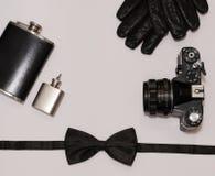 Mans accessorize väsentlighet Royaltyfria Foton