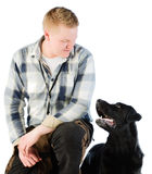 Mans best friend Royalty Free Stock Image