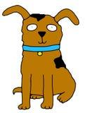 Mans Best Friend. Illustration of a cartoon dog stock illustration