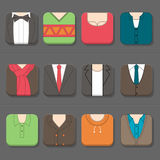 Mans Clothing Icon Royalty Free Stock Image