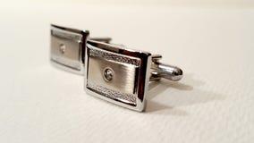 Mans Cufflinks Royaltyfria Bilder