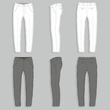 Mans fashion trousers Royalty Free Stock Photos