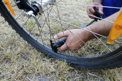 Bicycle Boot Pump Royalty Free Stock Image
