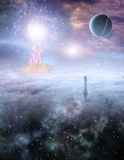 Mans Journey of the Soul Royalty Free Stock Photo