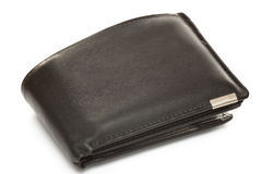 Mans leather wallet Royalty Free Stock Photos