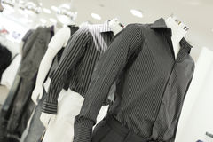 Mans shirt on display Royalty Free Stock Photography