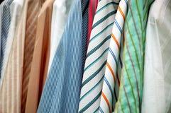 Mans shirts Royalty Free Stock Image