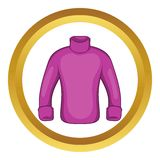 Mans sweater vector icon Stock Images