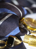 A mans traditional accessories Royalty Free Stock Photography